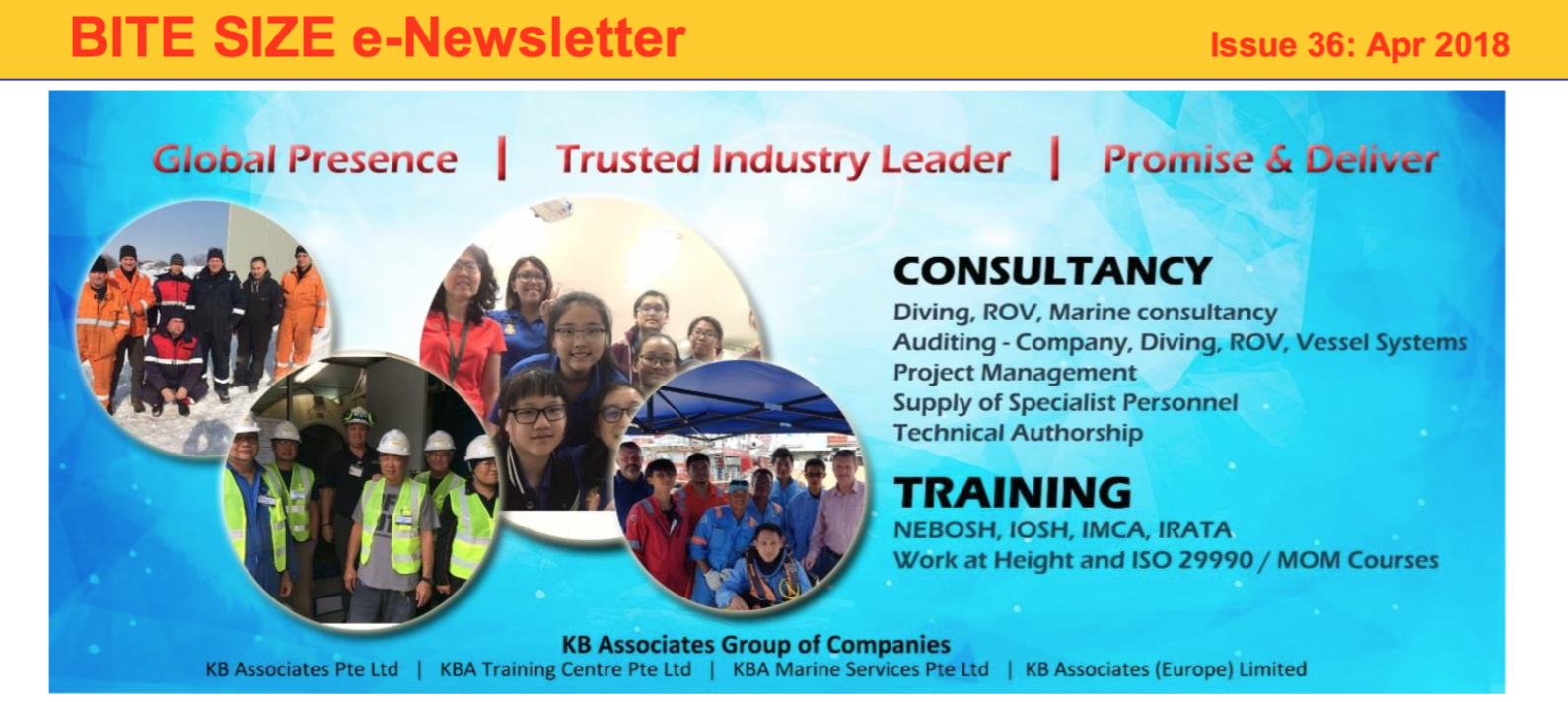 Byte Size e-Newsletter Issue #36 April 2018