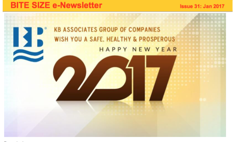 Jan 2017 Newsletter Issue #31