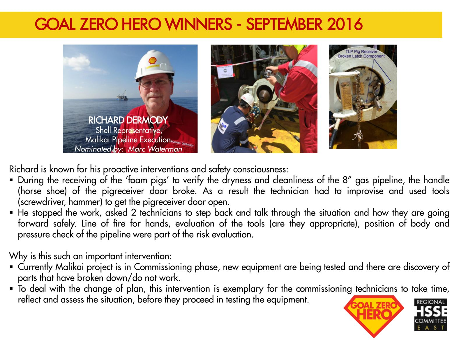 Featuring Richard Dermody: Goal Zeo Hero Winners - September 2016