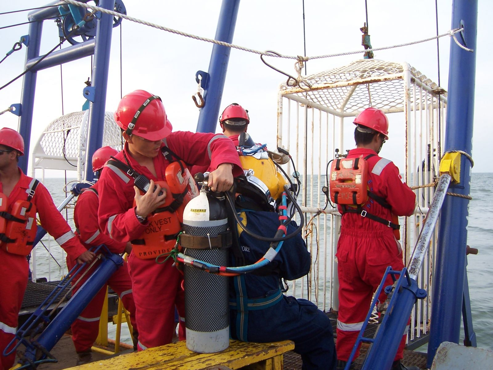 Successful Completion of IMCA Surface Supplied Diving Assessment for Indonesian Divers