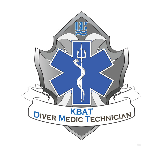 Diver Medic Technician - Cotton T-shirt (Design 4)