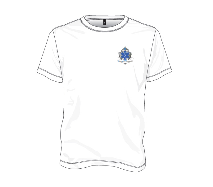 Diver Medic Technician - Cotton T-shirt (Design 2)