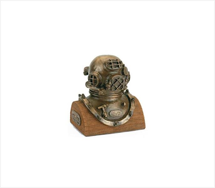 Desco/ Morse / Schrader Diving Helmet (PW-01)