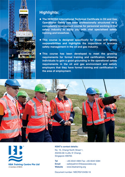 NEBOSH International Technical Certificate in Oil & Gas Operational Safety (2016 Edition)