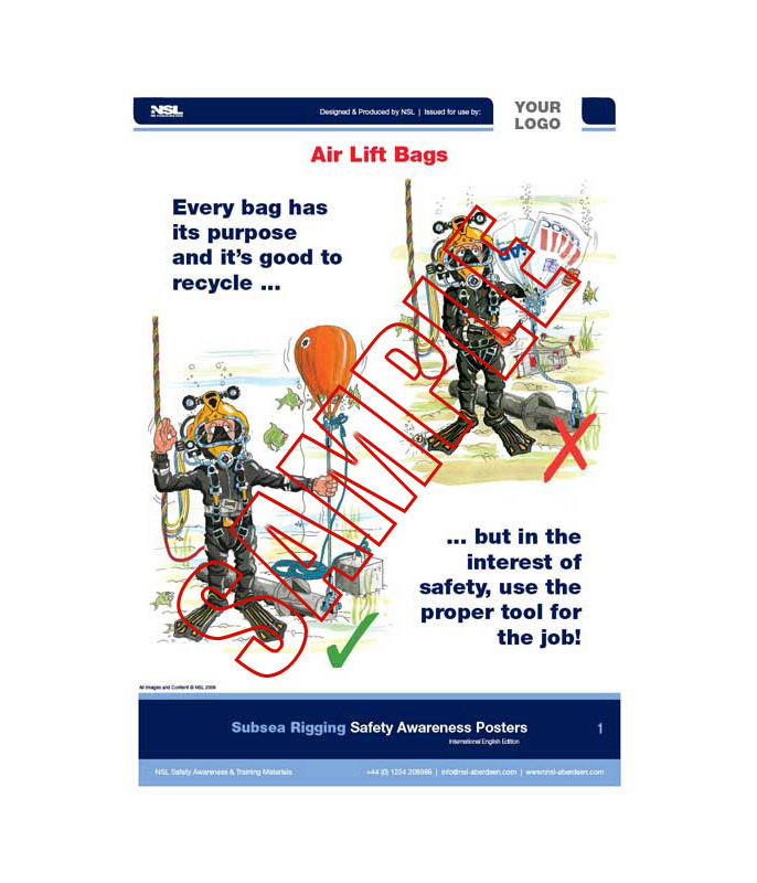 Subsea Rigging & Lifting: 10 posters in set