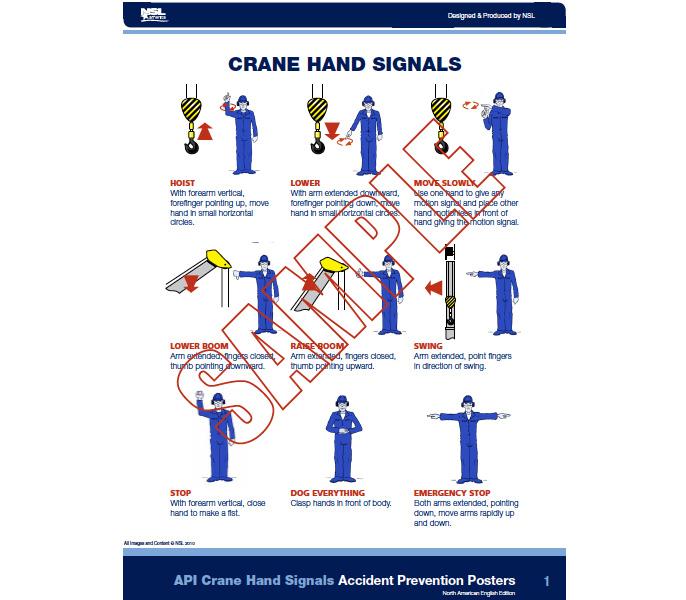 US API Hand Signals