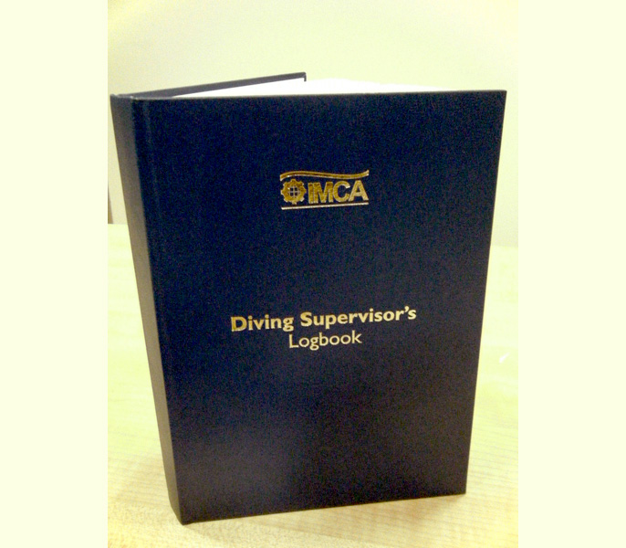 Diving Supervisor's Logbook